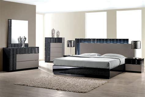 bedroom set with led lights rome modern bedroom set with led lighting system