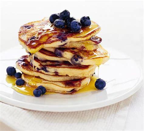 blueberry pancake recipe american blueberry pancakes recipe food