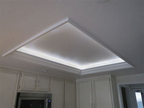 Kitchen Cabinet Crown Molding Ideas by Full Kitchen Remodel W Custom Recessed Lighting Cove