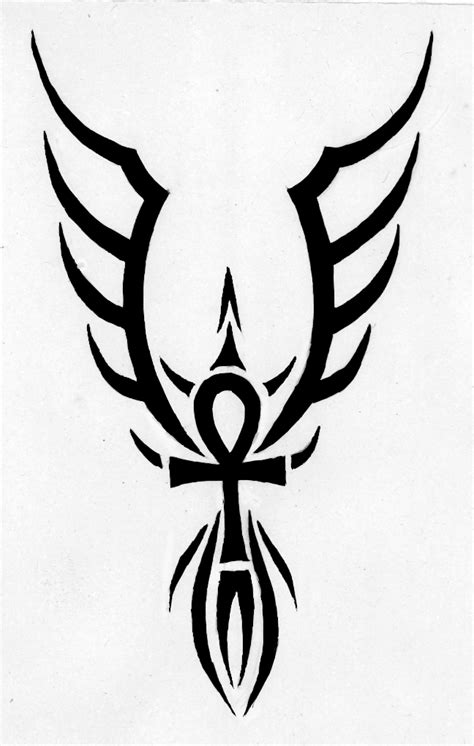 ankh tribal tattoo ankh tattoos and designs page 44