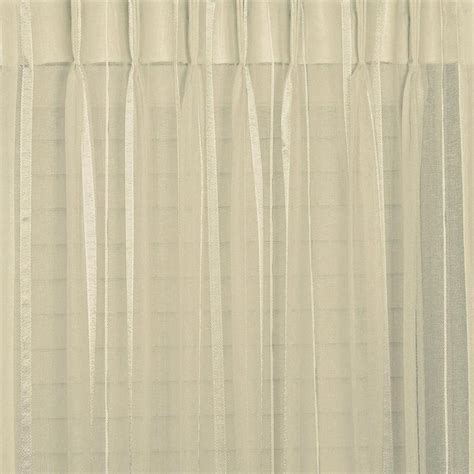 pinch pleated sheer curtains buy bergamo striped sheer pinch pleat curtains online