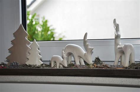 Weihnachtsdeko Fensterbank Holz by Die Besten 25 Weihnachtsdeko Fensterbank Ideen Auf