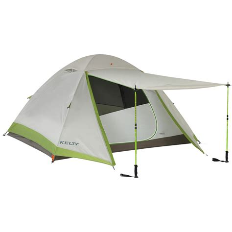 Kelty Awning by Kelty Gunnison 4 3 Tent W Footprint 4 Person 3 Season