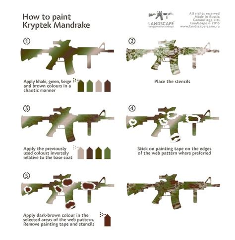 how to paint a l how to paint kryptek mandrake ar 15