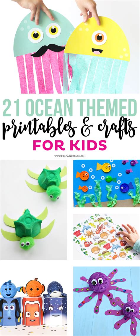 themed crafts 21 themed printables and crafts printable crush