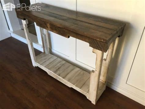 Rustic Pallet Sofa Table 1001 Pallets Pallet Sofa Table