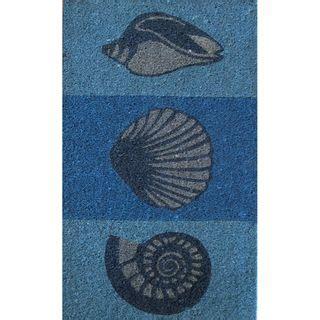 grey patterned door mat cocoa matting sea shell blue door mat 18 x 30 door