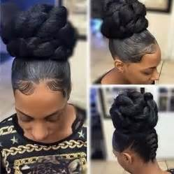 twisted bun hairstyle on american 25 best ideas about marley hair on pinterest marley bun