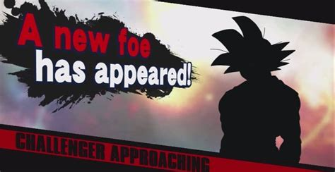 Funimation Really Wants Goku To Join The Roster In Super Smash Bros Nintendo Life Smash Bros New Character Template