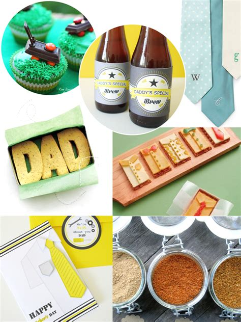 Handmade Fathers Day Gift - s day handmade gift card and food ideas
