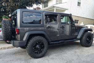 wheel offset 2016 jeep wrangler stock custom rims