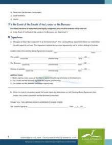 Certification Letter For Borrowing Money lending money agreement pdf by a sane approach family and friend