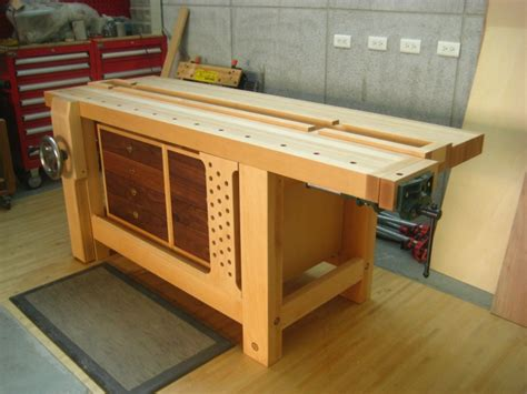 tims hybrid roubo workbench finewoodworking