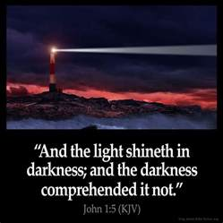 Jesus Is The Light That Shineth In Me by 1 5 Inspirational Image