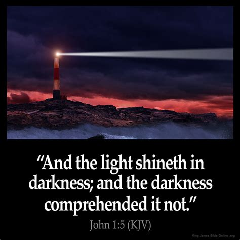 scripture about being the light john 1 5 inspirational image