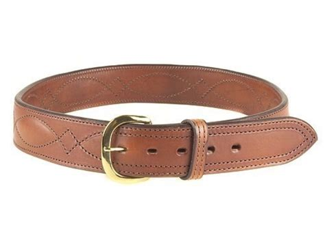 bianchi b21 contour belt 1 3 4 brass buckle leather 32