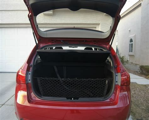 Kia Trunk Space Hitting The Road With The Kia Forte 5 Door Sx Not Quite