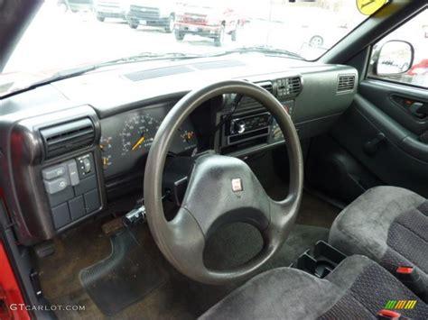 gmc sonoma interior 1994 gmc sonoma sls extended cab 4x4 interior color photos