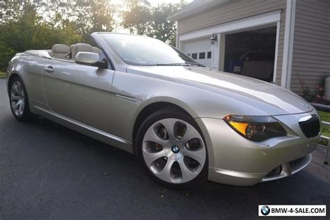645 Bmw For Sale by 2005 Bmw 6 Series 645ci Convertible For Sale In United States