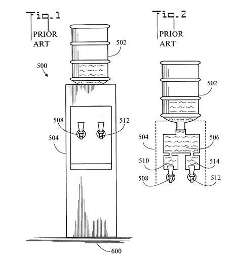 water dispenser diagram cold water dispenser schematic diagram circuit and