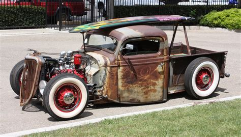 rats rodshot rat rods surfers dude surf trucks beach