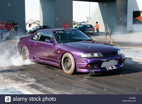 modified nissan skyline modified japanese r33 nissan skyline car performing a tyre