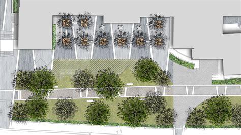 Home Plan Designers school plaza landscape design concept landscape