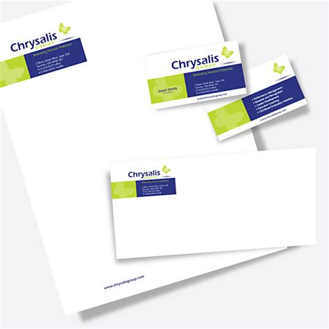 business card letterhead package ct11 business package