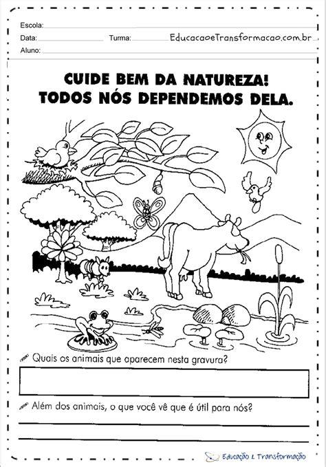 Atividades Meio Ambiente para Ensino Fundamental e