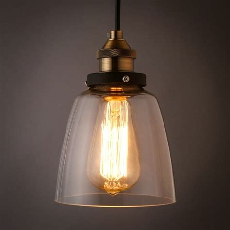 Wonderful Popular Clear Glass Pendant Light Shade Buy Buy Lights