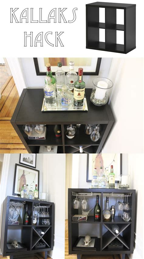 ikea bar ideas  pinterest