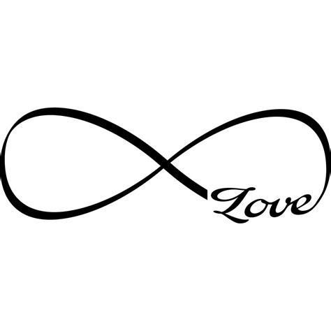 infinity love stickers muraux citations sticker l amour dans l infini