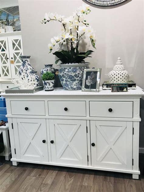 hampton white  drawer buffet hamptons style interiors