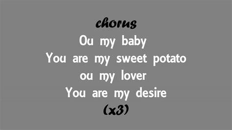my sweet lyrics mbuku ft jomo sweet potato lyrics