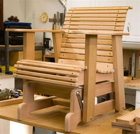 glider deck chairs