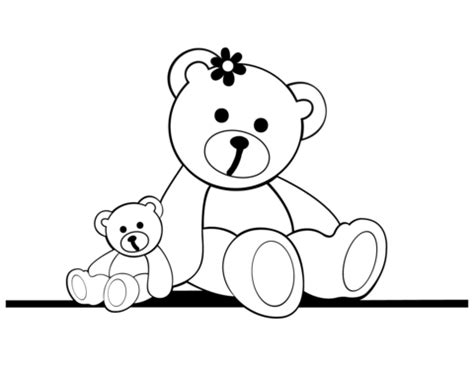 teddy coloring page teddy bears coloring page free printable coloring pages