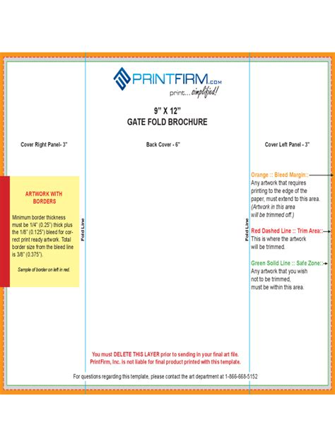 brochure template excel gate fold brochure template 6 free templates in pdf