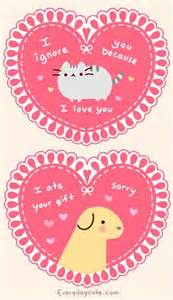 s day pusheen card cards