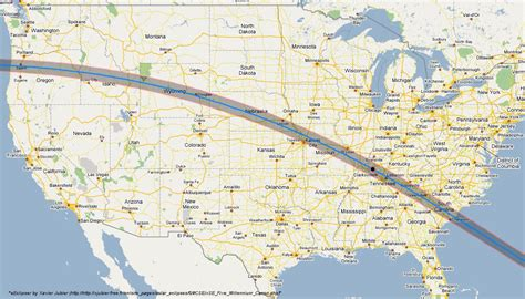 eclipse 2017 map total solar eclipse 2017 maps