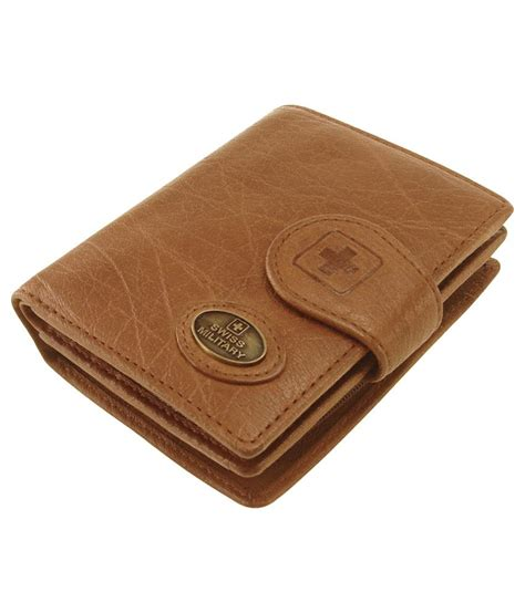 Swiss Army 1128 Original Leather swiss genuine leather s wallet lw 6 buy at low price in india snapdeal