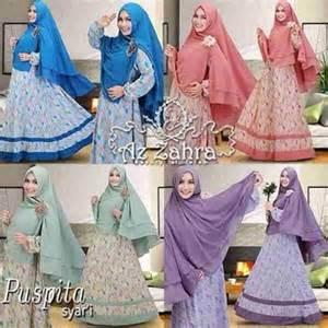jual baju syari murah baju gamis hijab syar i modern terbaru puspita azzahra