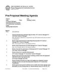 pre construction meeting agenda template pre meeting agenda hashdoc