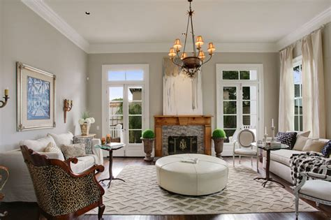 new orleans style living room uptown new orleans cottage renovation transitional living room new orleans by