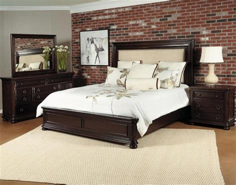 california bedroom furniture samuel lawrence chandler 5 piece california king bedroom set in chest nut 85 transitional