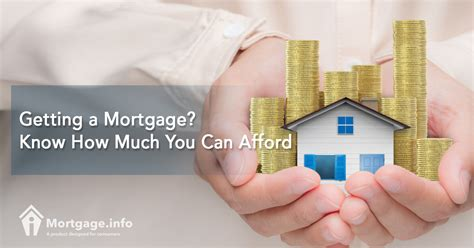 how much loan can i get getting a mortgage know how much you can afford