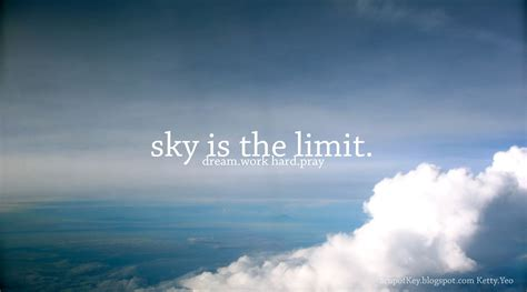 Sky Is The Limit acupofkey sky is the limit