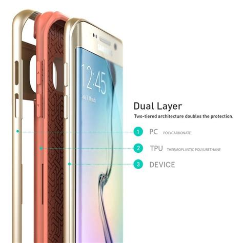 Caseology For Samsung Galaxy S6 Edge Pink caseology wavelength skal till samsung galaxy s6 edge plus
