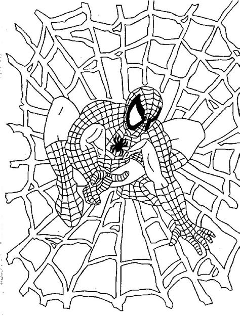 free spiderman coloring page spiderman coloring pages 2 coloring pages to print