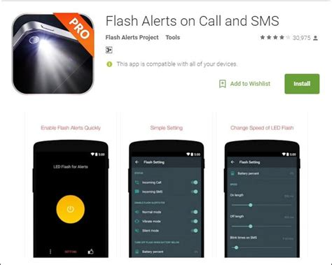 how to get flash on android how to use led flash as notification light on android or