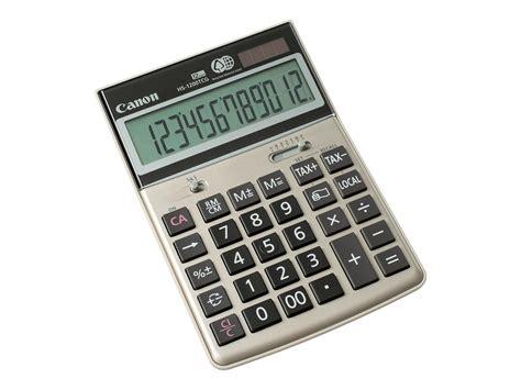 calculatrice de bureau canon hs 1200tcg calculatrice de bureau calculatrices